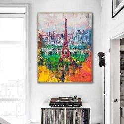 Peinture abstraite Paris