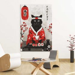 Tableau chat japonais