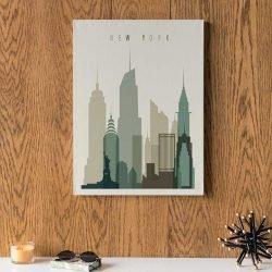 Tableau déco affiche New York