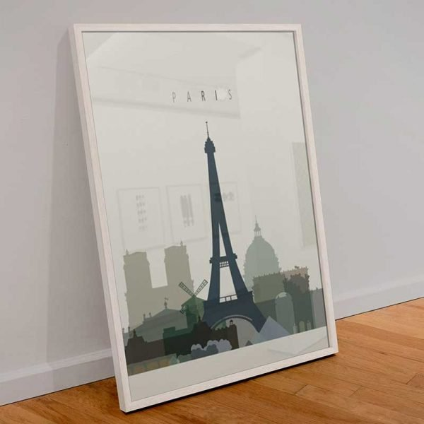 Tableau déco affiche Paris