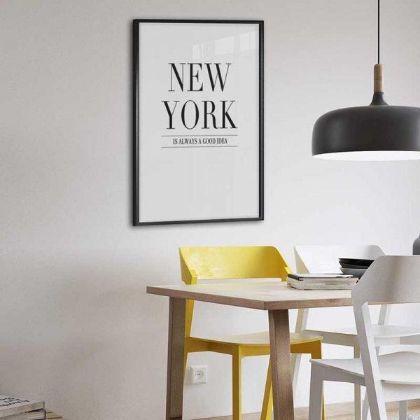 Tableau déco affiche murale New York