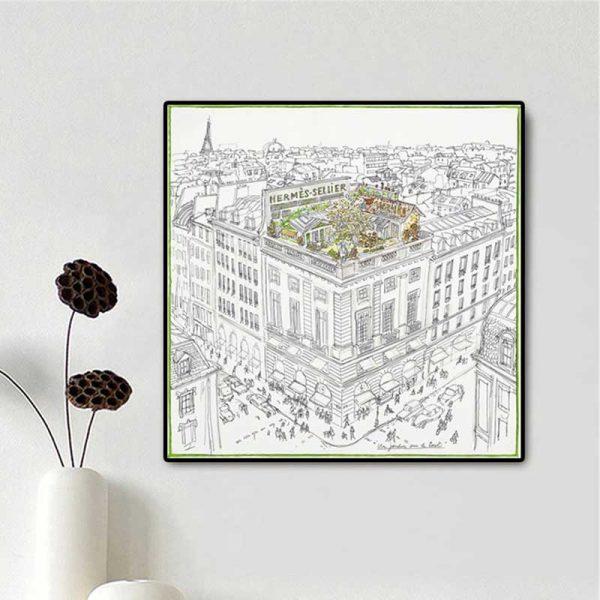 Tableau dessin Paris