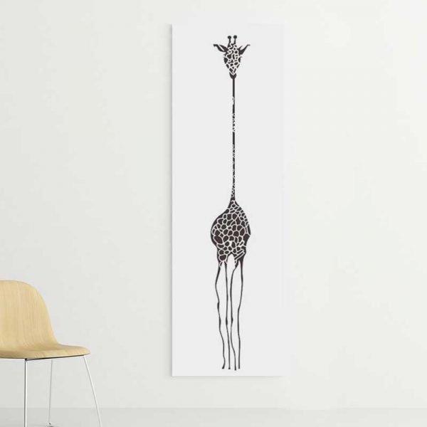 Tableau dessin girafe