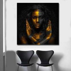 tableau femme africaine moderne