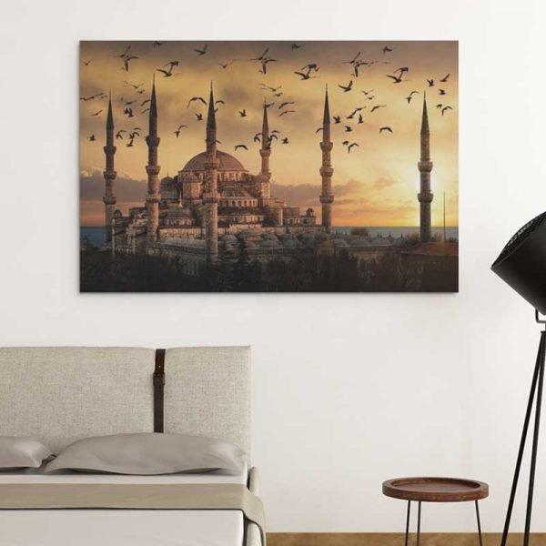 Tableau mosquée bleue
