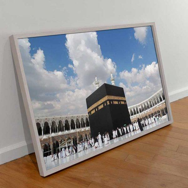 Tableau photo de la Mecque