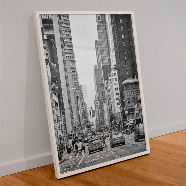 Tableau déco rue New York