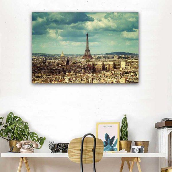 Tableau photo vue de Paris