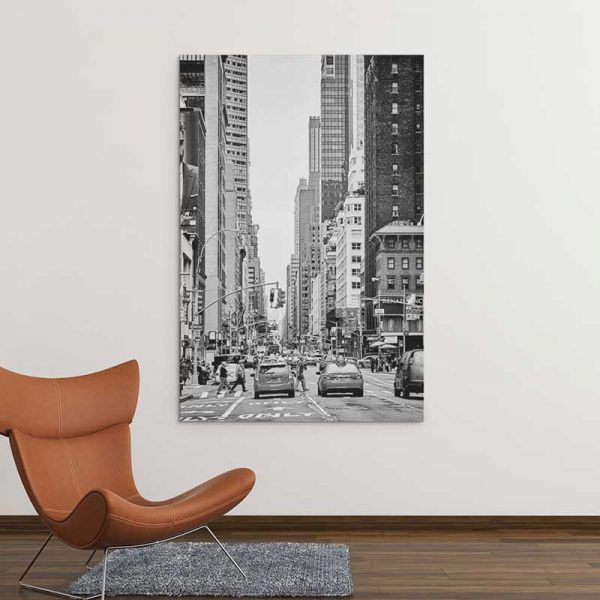 Tableau rue New York