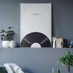 Tableau scandinave vinyle