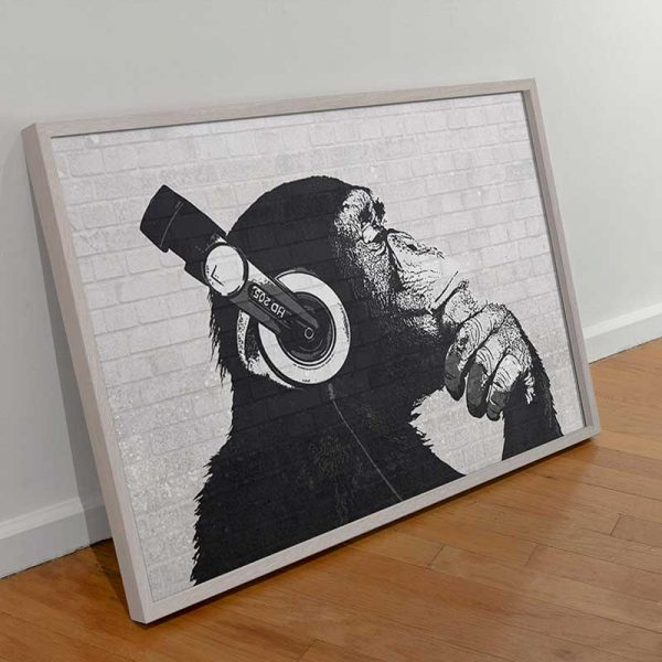 Tableau singe banksy