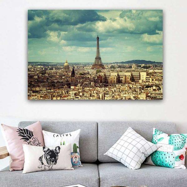 Tableau vue de Paris