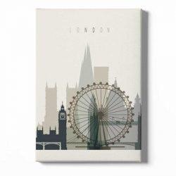 Toile affiche Londres