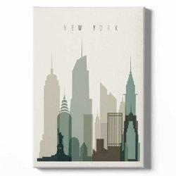 Toile affiche New York