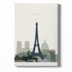 Toile affiche Paris