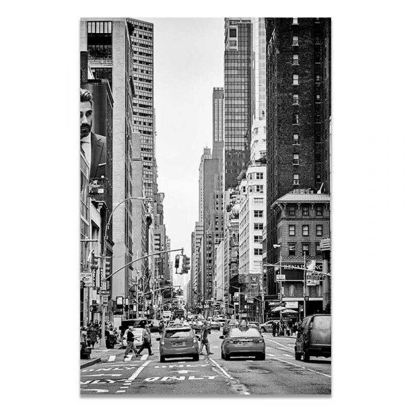 Toile rue New York