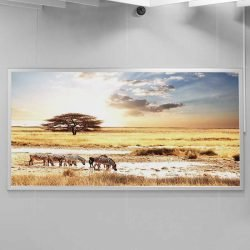 Toile savane africaine