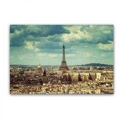Toile vue de Paris