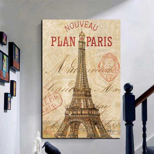 Affiche Paris vintage