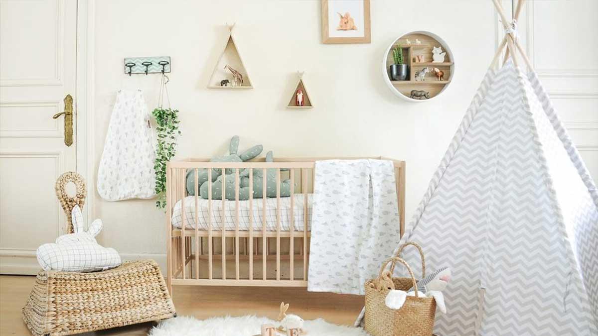 Déco chambre bébé scandinave