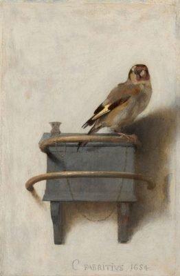 peinture oiseau art