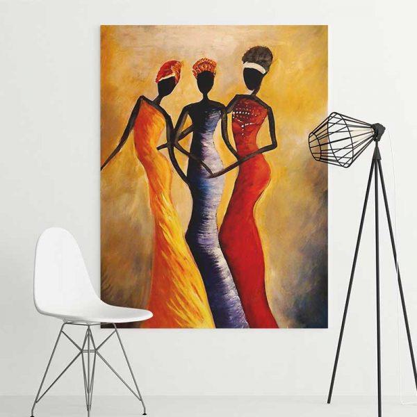 Tableau 3 femmes africaines