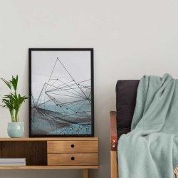 Tableau déco forme géométrique abstrait