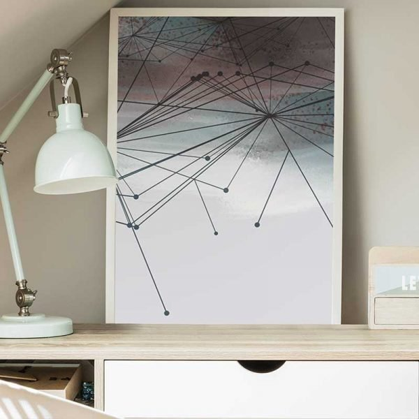 Tableau déco géométrique moderne