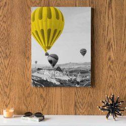 Tableau déco montgolfière