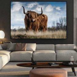 Tableau déco Vache Highland