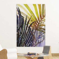 Tableau feuilles tropicales