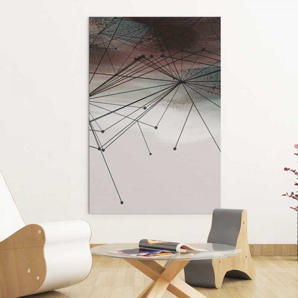 Tableau géométrique moderne