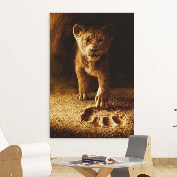 Tableau roi lion