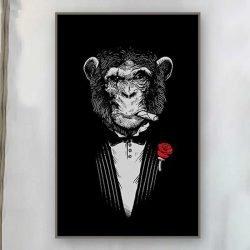 Tableau singe mafia