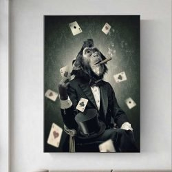 Tableau singe poker