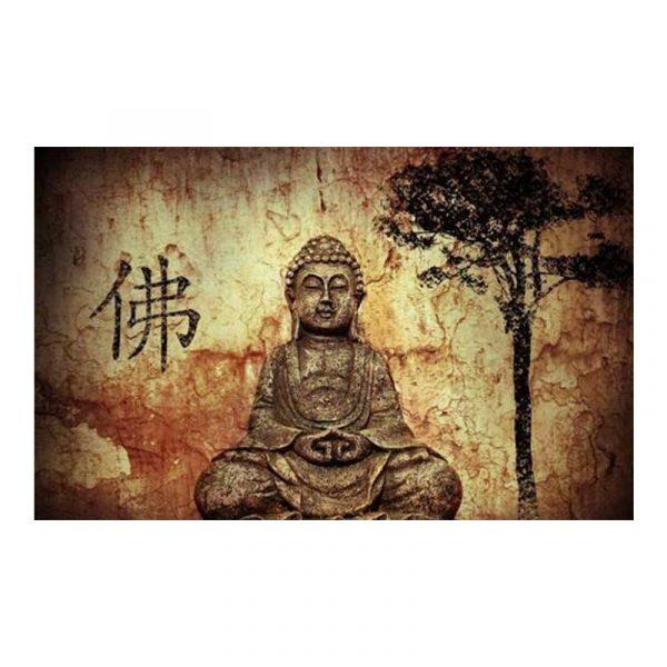 tableau sur toile bouddha