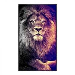 Tableau sur toile lion design
