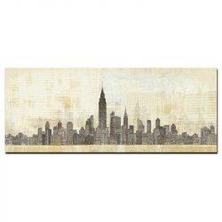 Tableau sur toile new york vintage