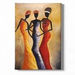 Toiles 3 femmes africaines