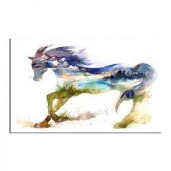 Toile cheval original