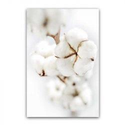 Toile fleur de coton