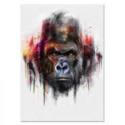 Toile gorille couleur