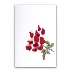 Toile pétales de fleur