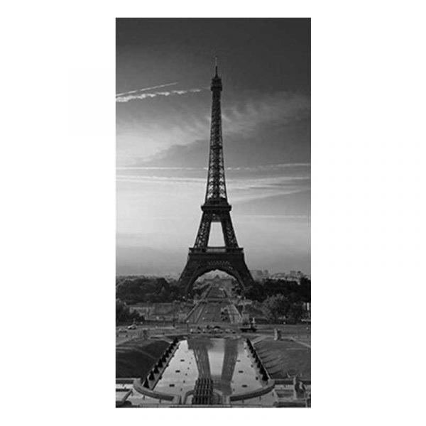 Toile tour Eiffel noir et blanc
