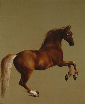 peinture cheval art