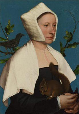 peinture ecureuil art