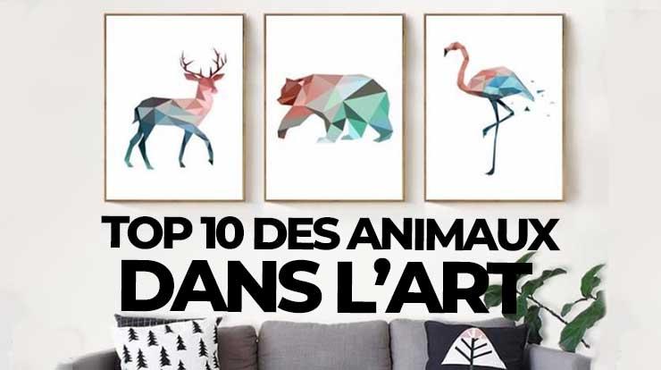 Top 10 des animaux dans l'art