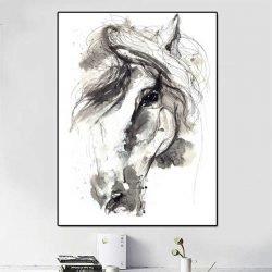 Tableau cheval dessin