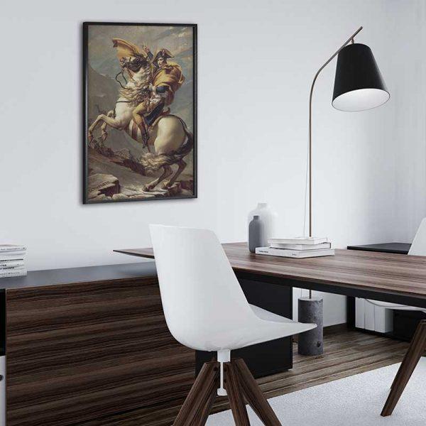 Tableau déco cheval napoléon