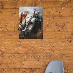 Tableau déco tête de cheval